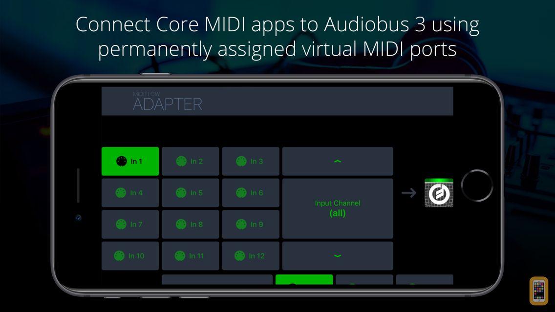 Screenshot - Midiflow Adapter (Audiobus)