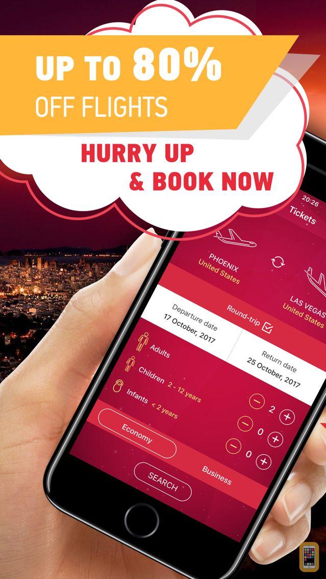 Screenshot - Airline Tickets & US Airways – Cheap Travel Apps