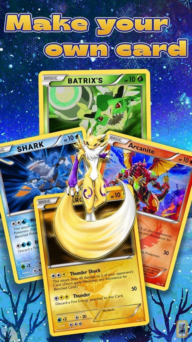 Screenshot - Card Maker Creator for Pokemon