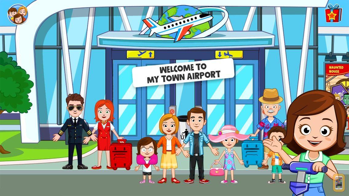 Screenshot - My Town : Airport