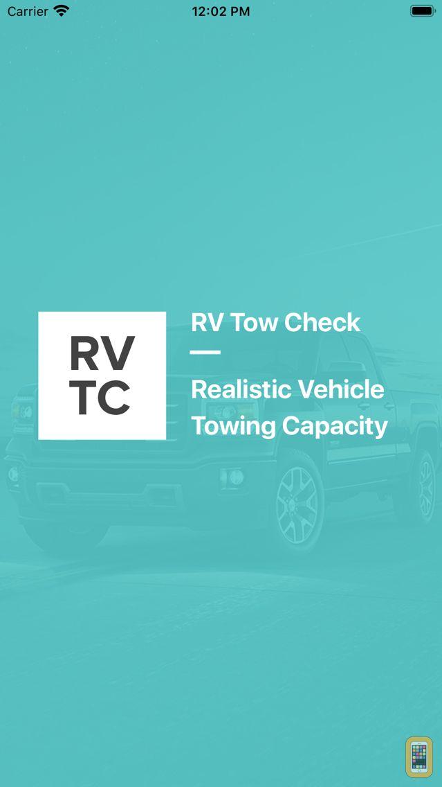 Screenshot - RV Tow Check