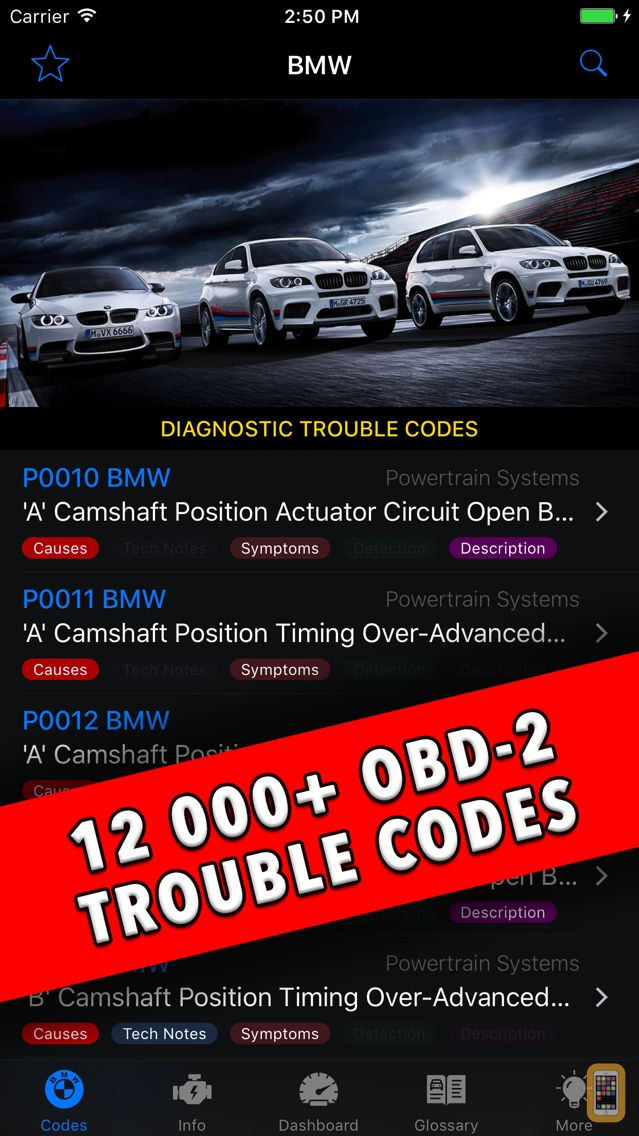 Screenshot - BMW App!
