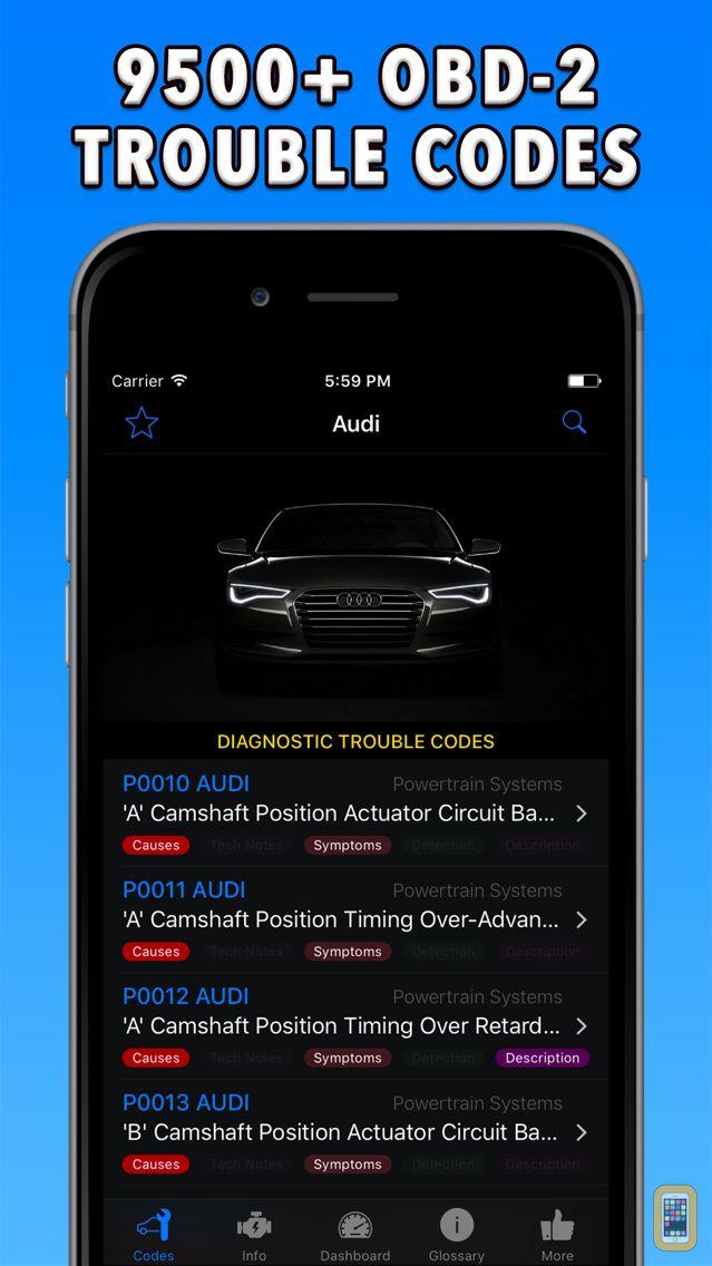 Screenshot - OBD-2 Audi