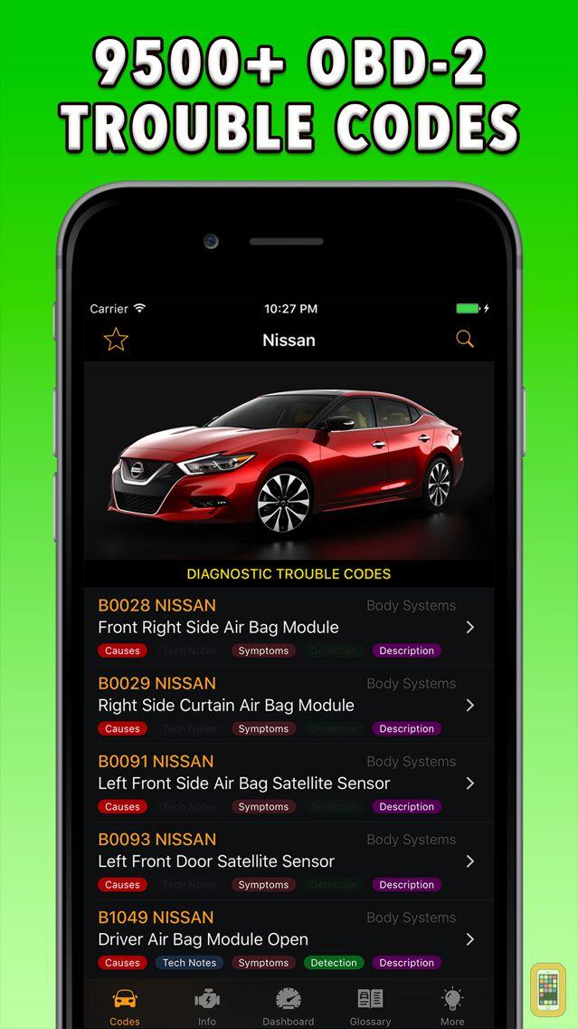 Screenshot - Nissan App!