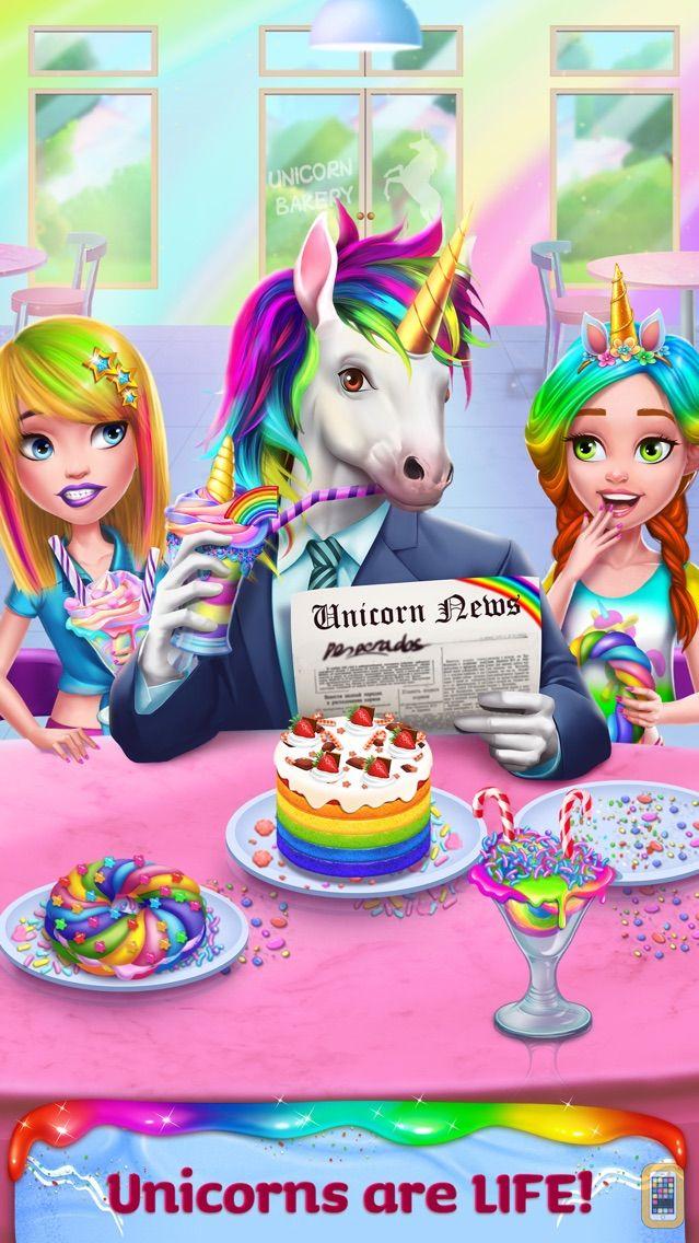 Screenshot - Unicorn Food - Rainbow Glitter Food & Fashion