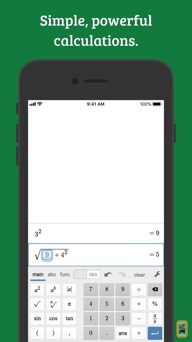 Screenshot - Desmos Scientific Calculator