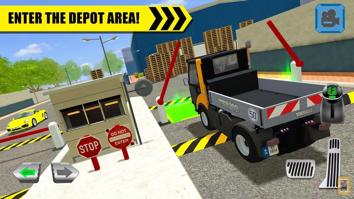 Screenshot - Truck Driver: Depot Parking