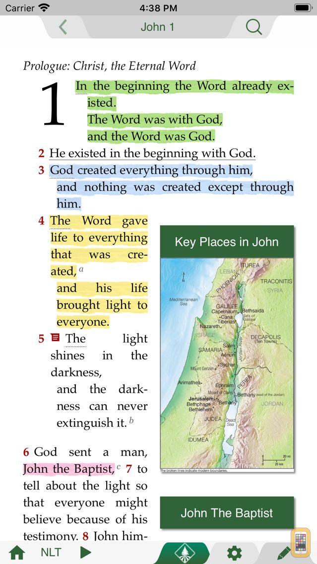 Screenshot - Life Application Study Bible