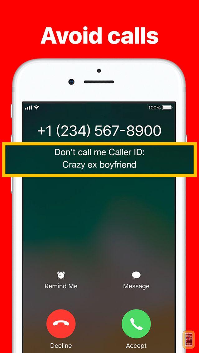 Screenshot - Don't call me