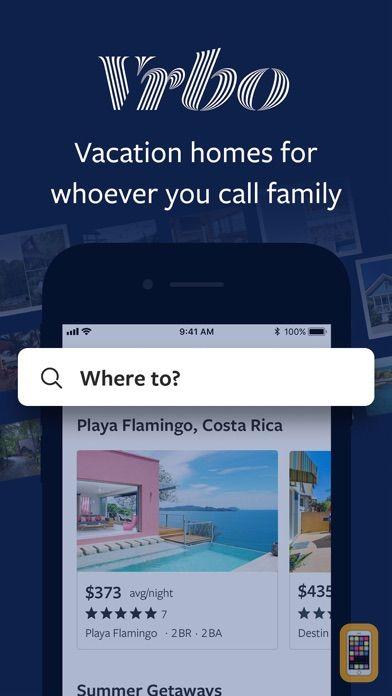 Screenshot - Vrbo Vacation Rentals