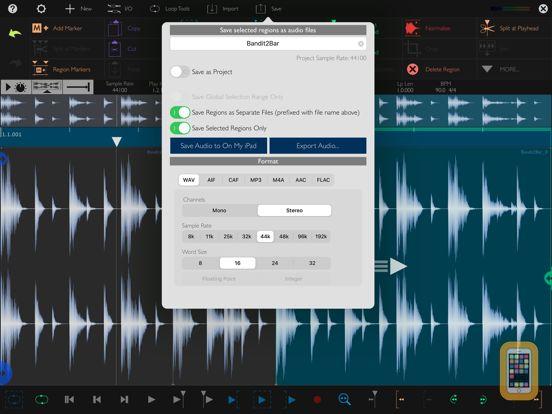 Screenshot - Auditor - Audio Editor