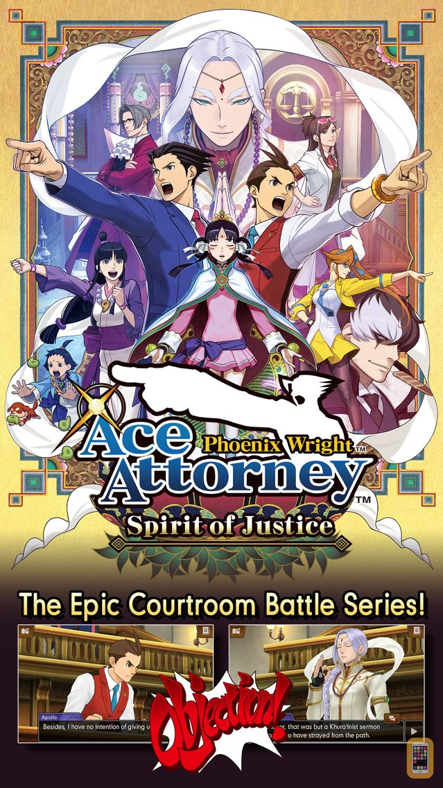 Screenshot - Ace Attorney Spirit of Justice