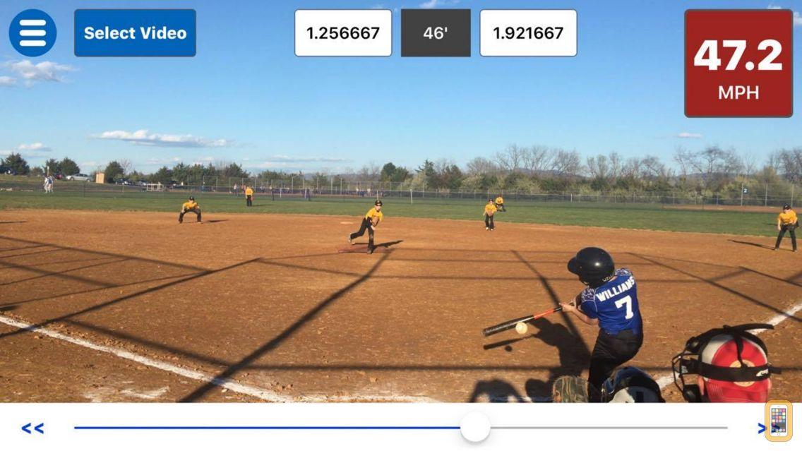Screenshot - Baseball Radar Gun +