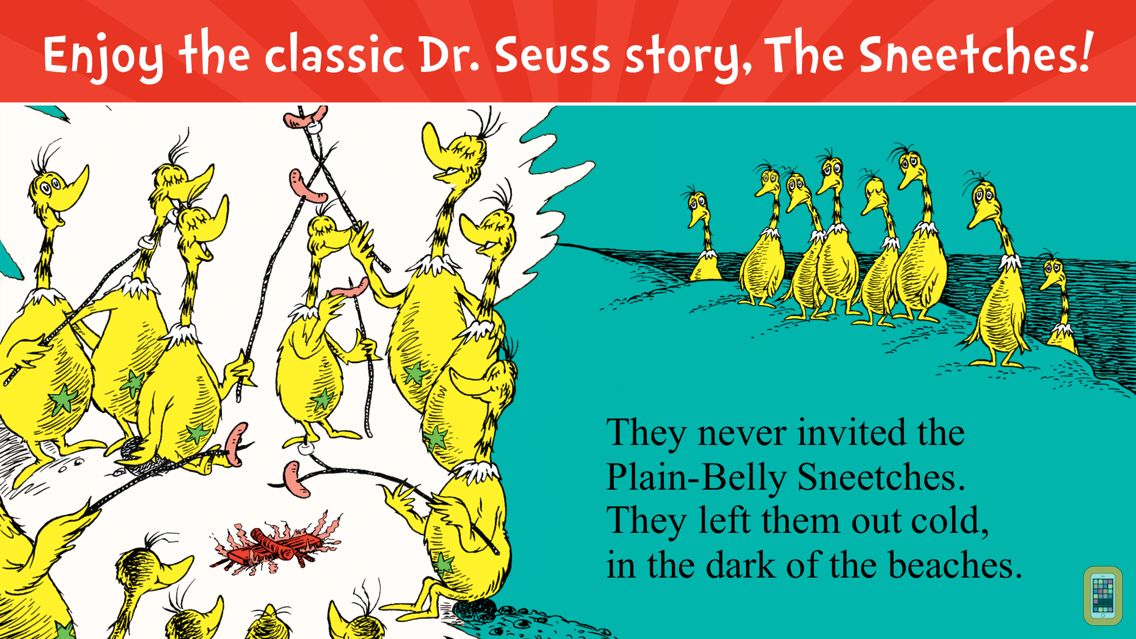 Screenshot - The Sneetches by Dr. Seuss
