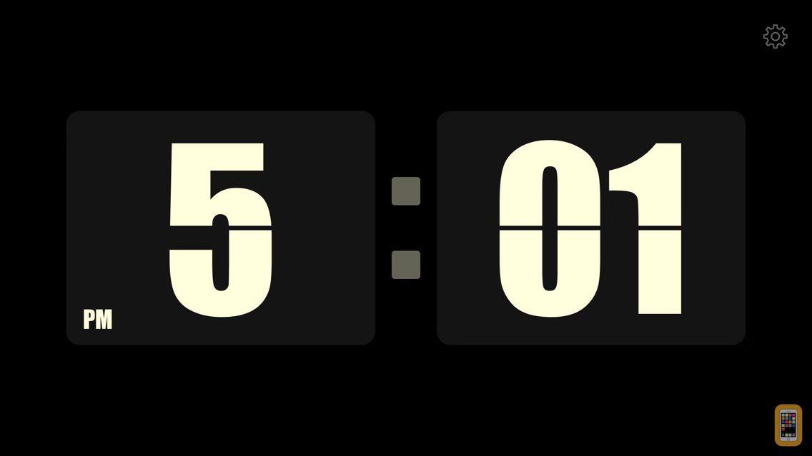 Screenshot - Mini Clock - one flip iclock