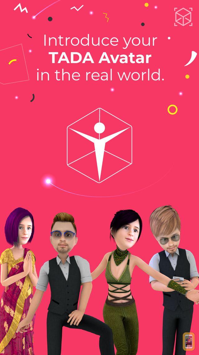 Screenshot - TaDa Time - 3D AR Messenger