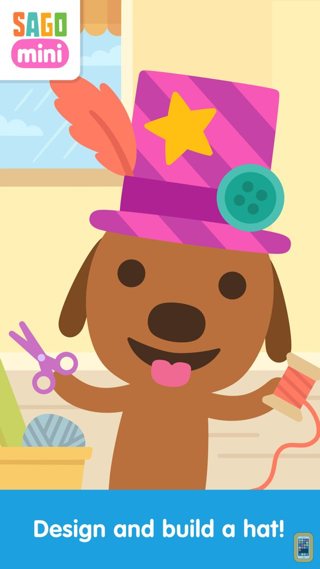 Screenshot - Sago Mini Hat Maker