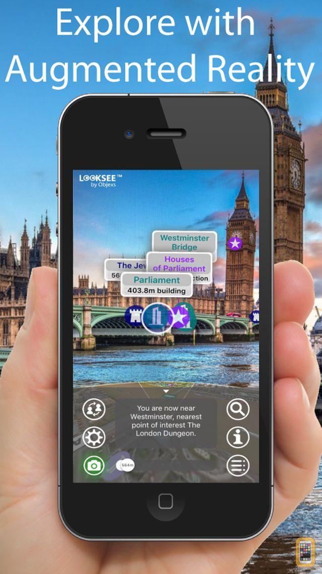 Screenshot - London Looksee AR