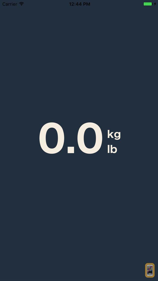 Screenshot - DBP Weight Scale