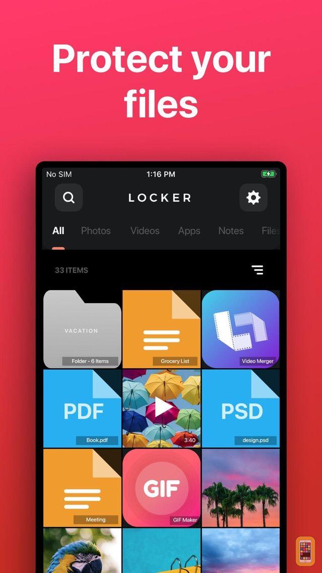 Screenshot - Locker: Hide Photos, Hide Apps