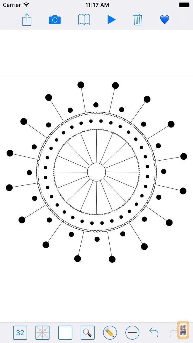Screenshot - SymmetryPad - Doodle in Relax