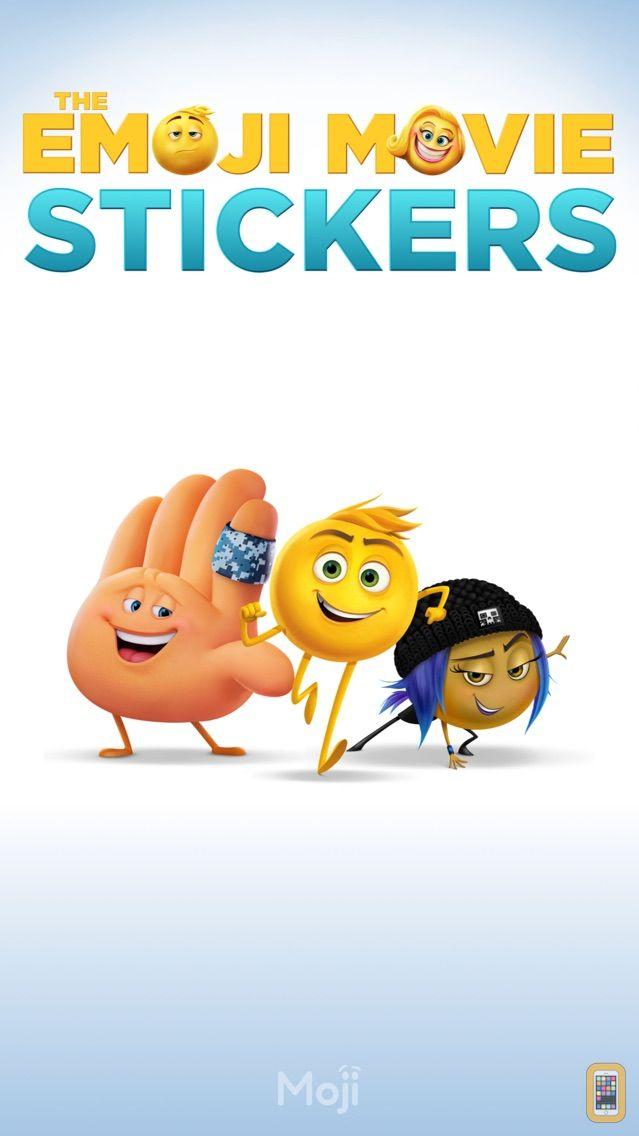Screenshot - The Emoji Movie Stickers