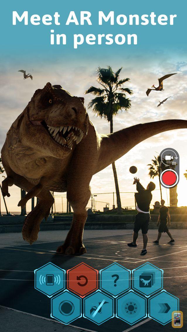 Screenshot - Monster Park - AR Dino World
