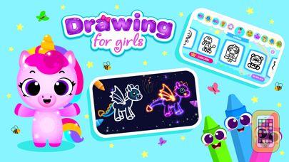 Screenshot - Games for Girls! Kids Drawing!