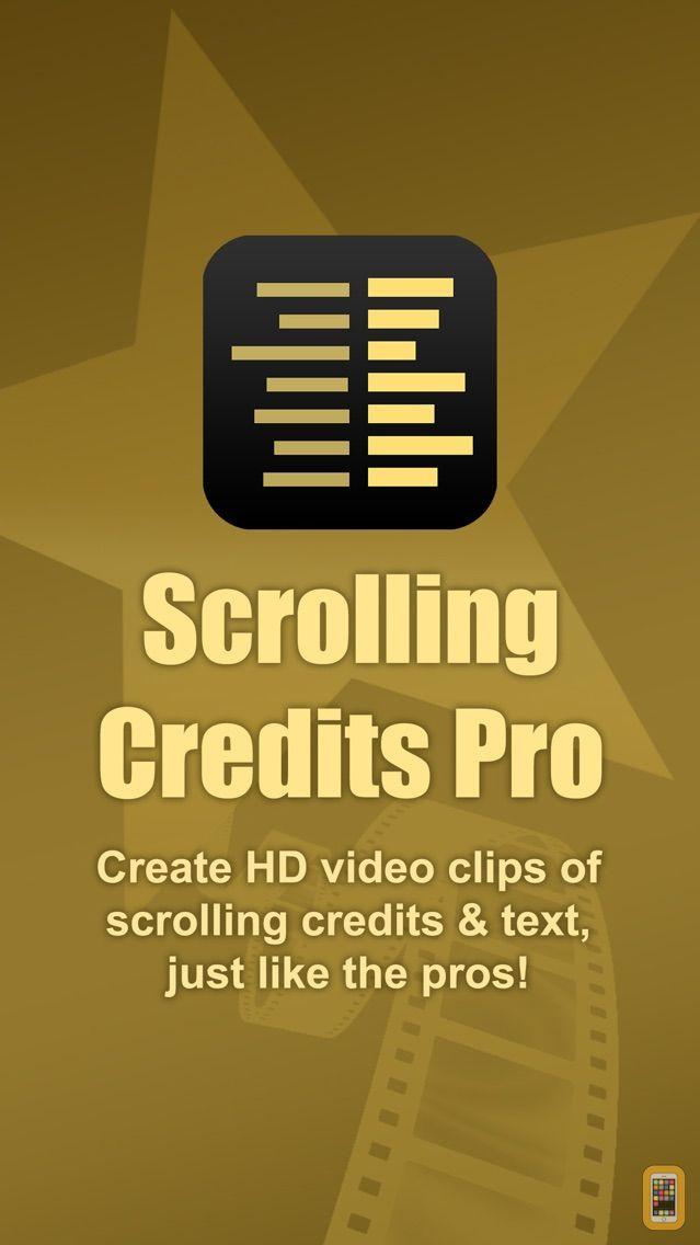 Screenshot - Scrolling Credits Pro