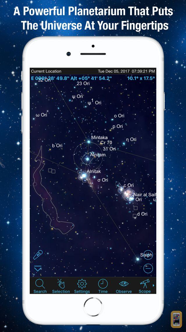 Screenshot - SkySafari 6 Plus