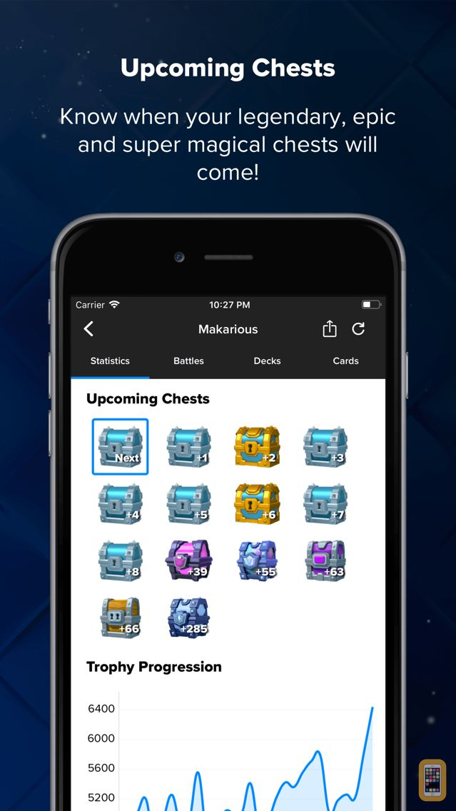 Screenshot - Stats Royale for Clash Royale