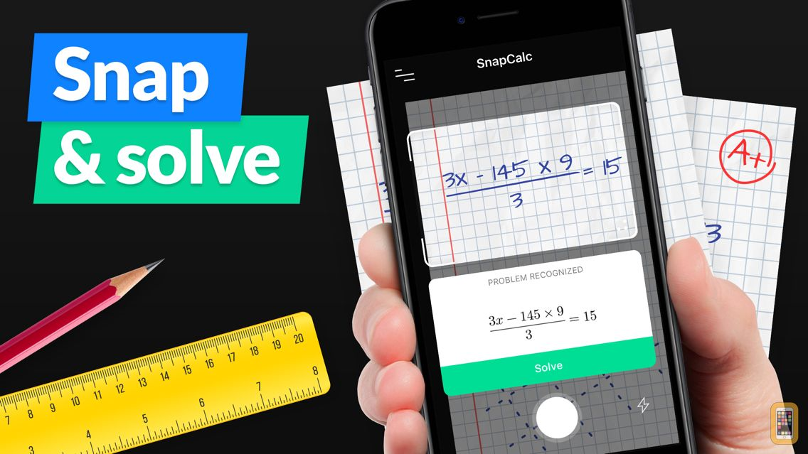 Screenshot - SnapCalc - Math Problem Solver