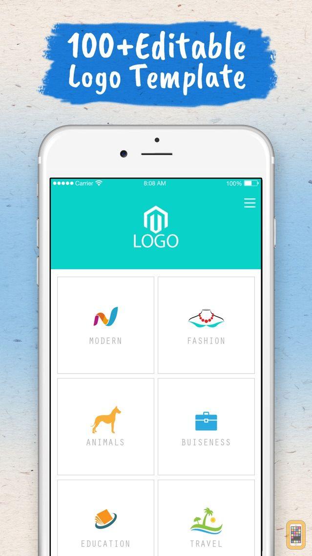 Screenshot - Logo Maker - Logo Creator .