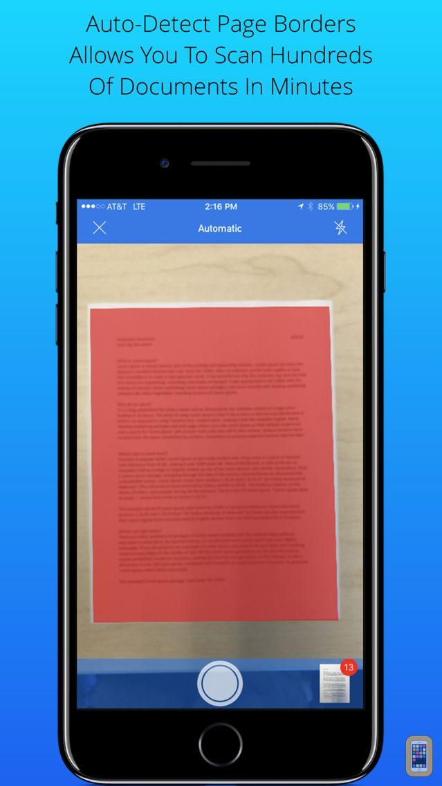 Screenshot - Scan My Document - PDF Scanner