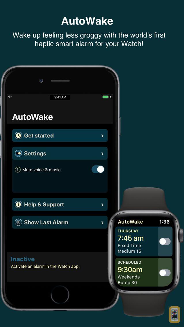 Screenshot - AutoWake. Smart Sleep Alarm