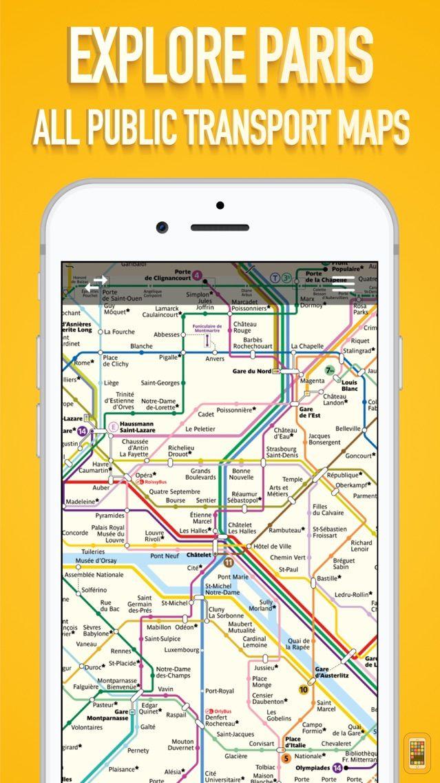 Paris Metro Map App.Paris Metro Map For Iphone Ipad App Info Stats Iosnoops