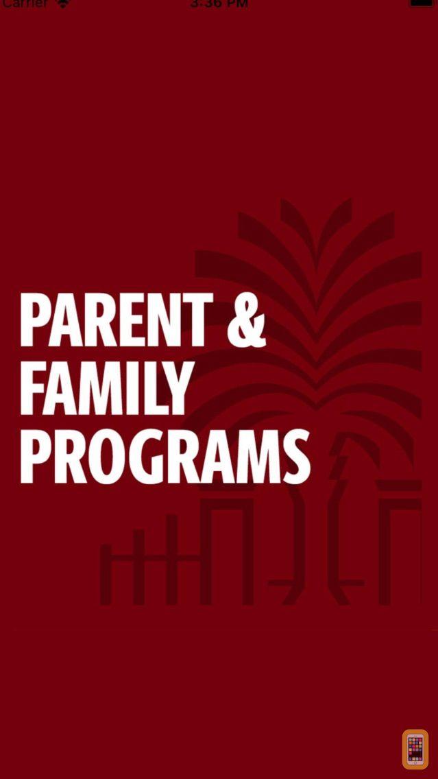 Screenshot - UofSC Parents Programs