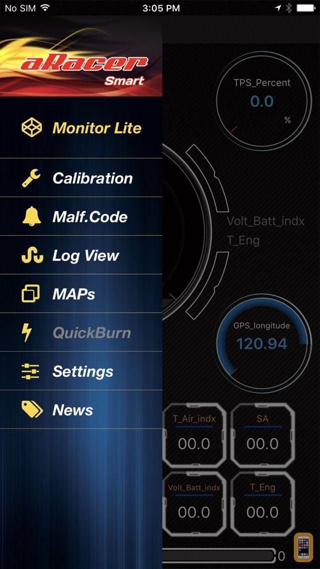 Screenshot - aRacerSmart