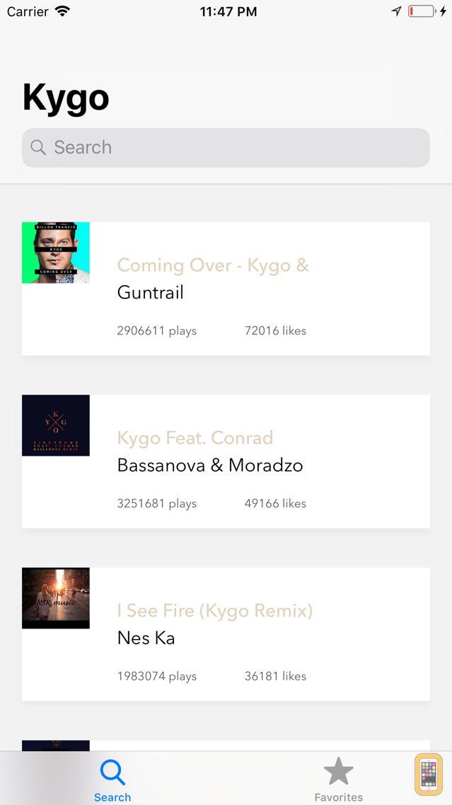 Screenshot - Soundly - Music Player