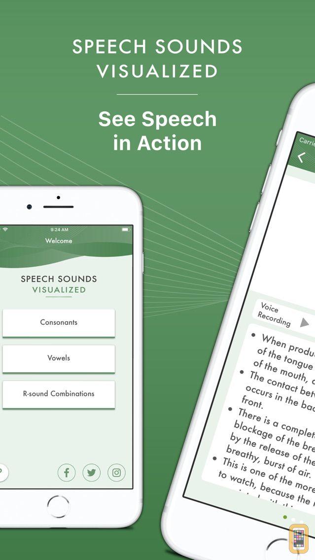 Screenshot - Speech Sounds Visualized