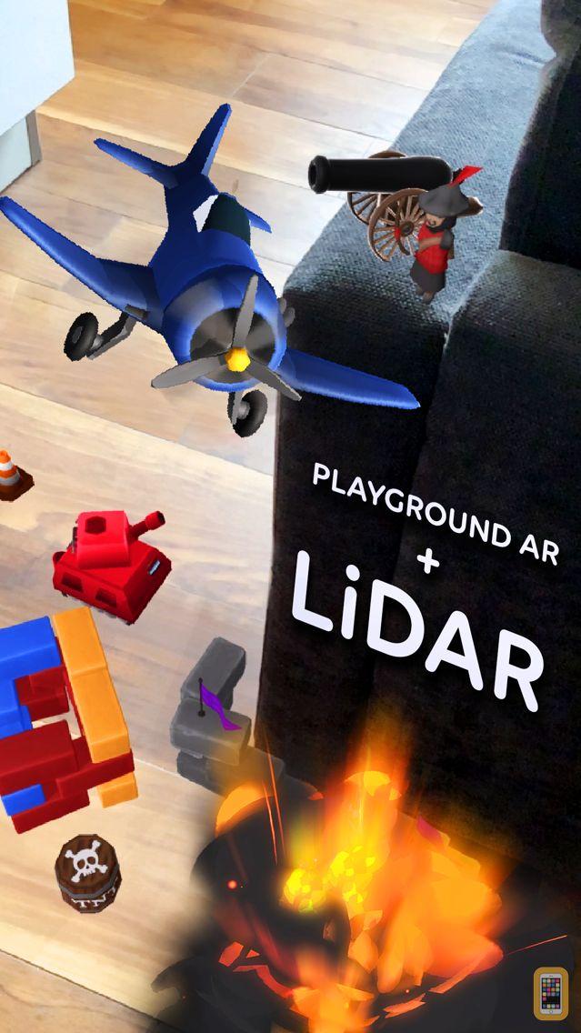 Screenshot - Playground AR: Physics Sandbox