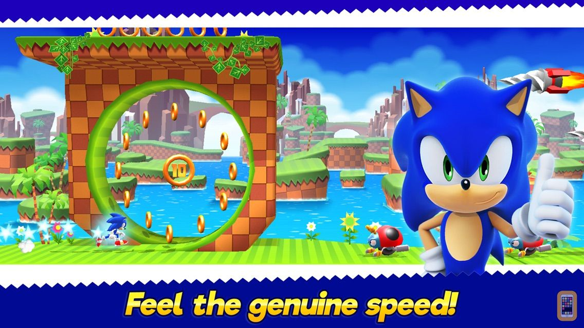 Screenshot - Sonic Runners Adventure