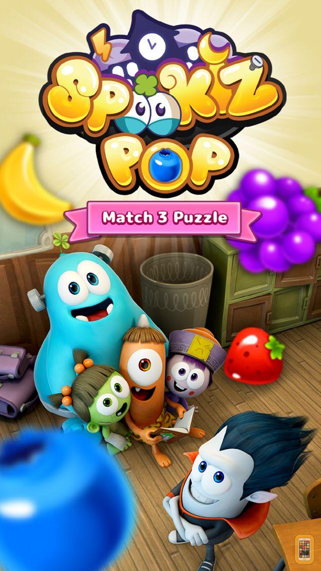 Screenshot - SPOOKIZ POP - Match 3 Puzzle