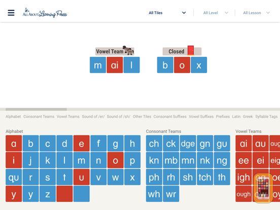 Screenshot - Letter Tiles for Learning