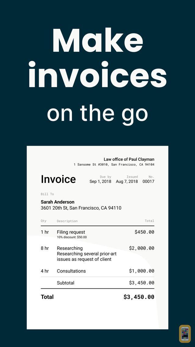 Screenshot - Invoice Maker App 2.0