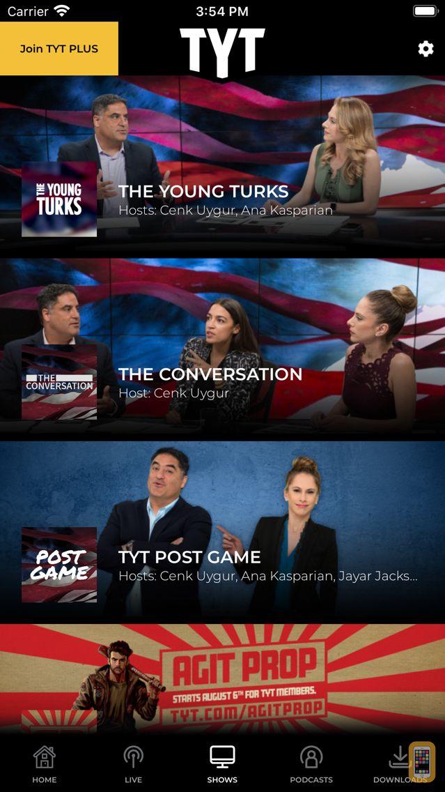 Screenshot - TYT - Home of Progressives