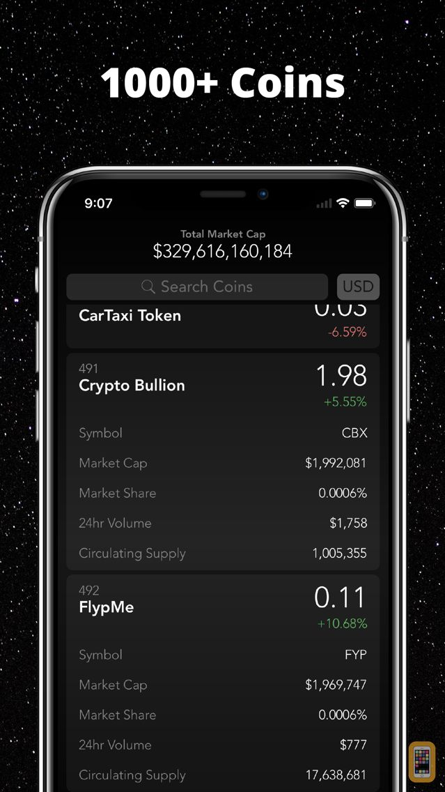 Screenshot - Crypto Tracker Elite