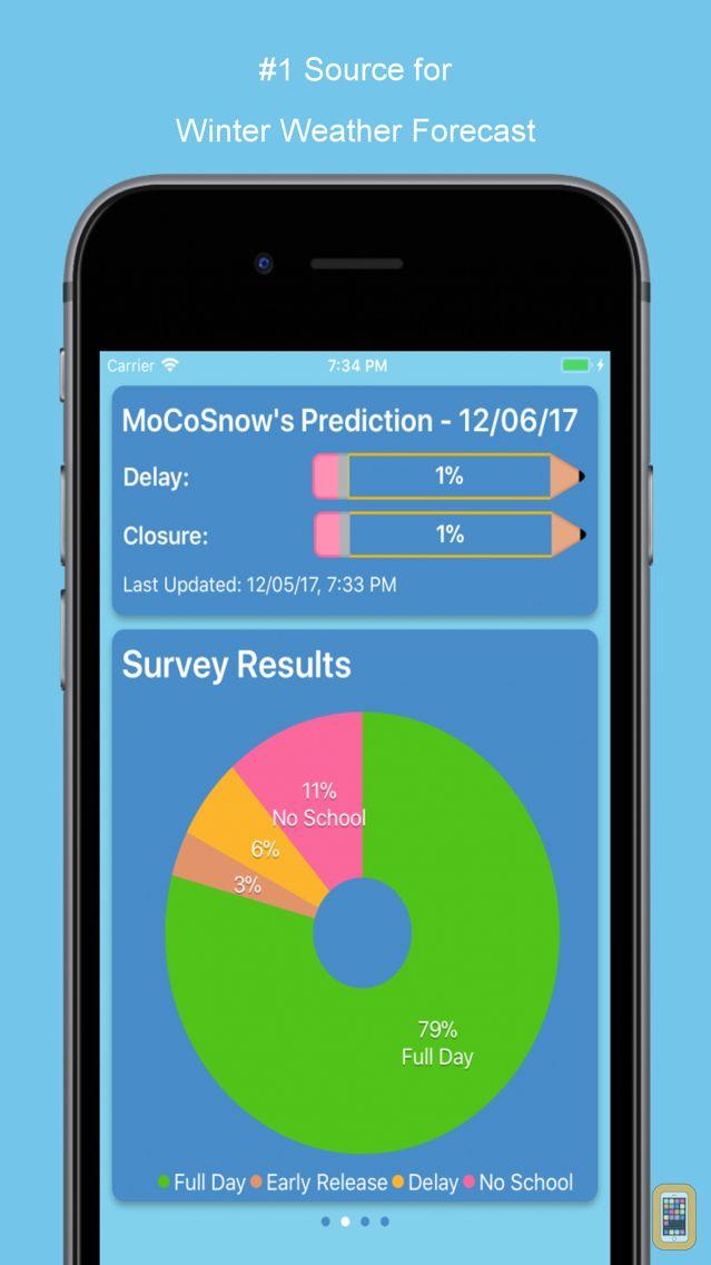 Screenshot - MoCoSnow App
