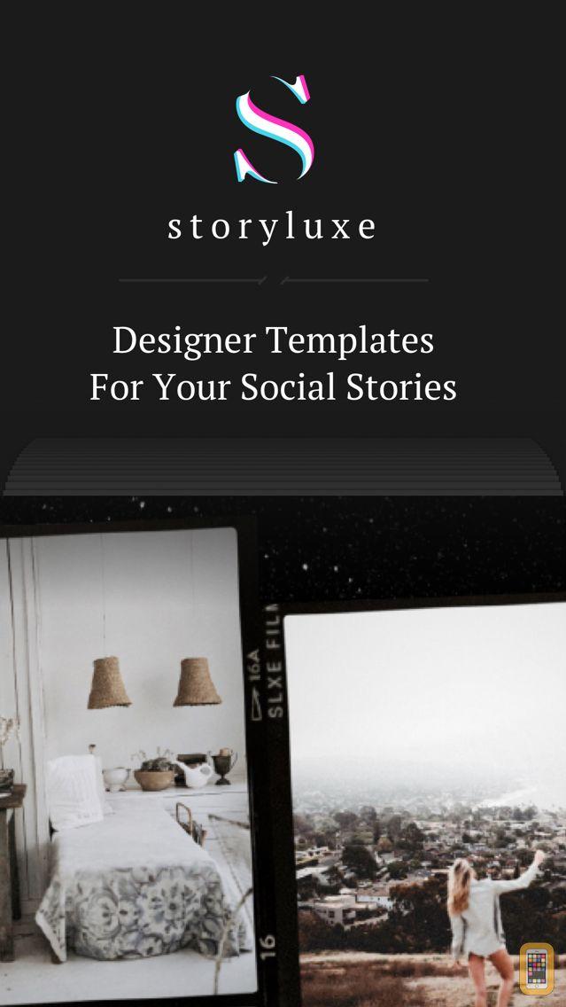 Screenshot - Storyluxe: Templates & Filters