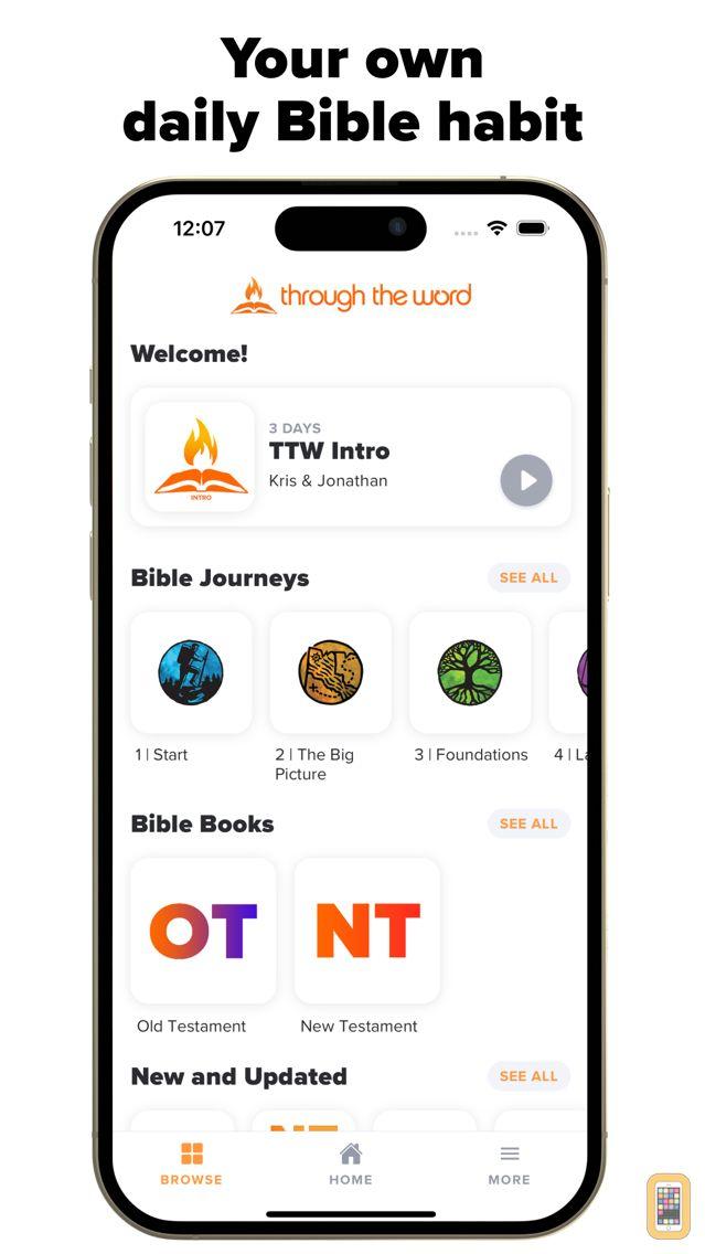 Screenshot - Through the Word App